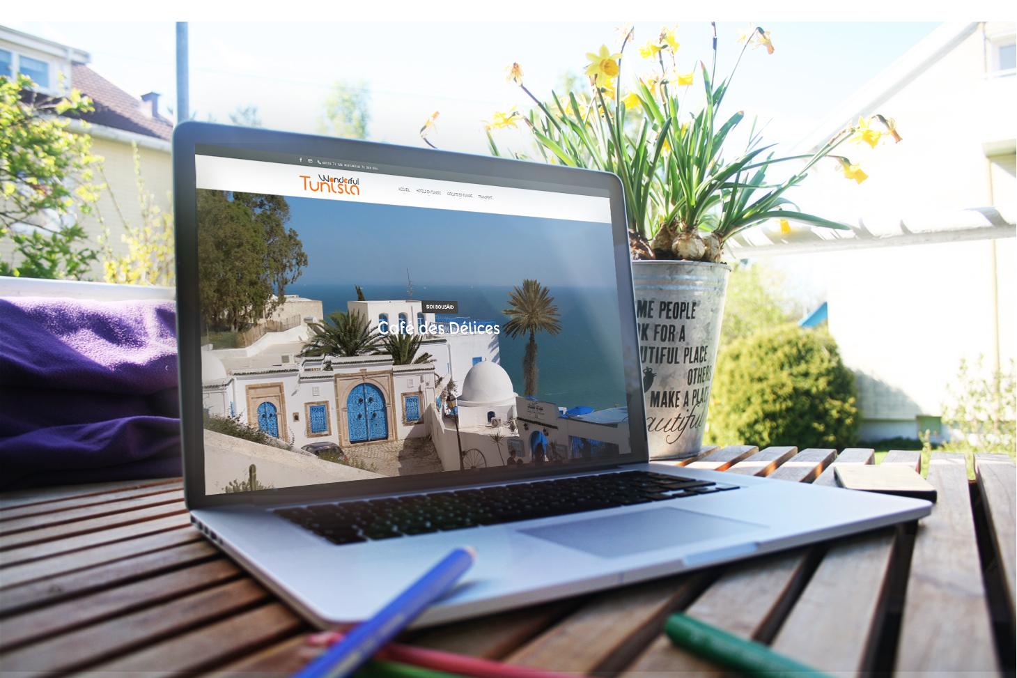 Site E-tourisme Wonderfull Tunisia